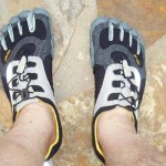 FUN running in my Vibram FiveFinger shoes